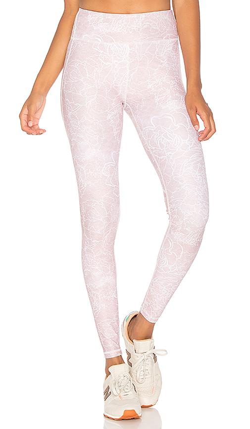 All Fenix Rose Dawn Legging in Blush. - size L (also in M,S,XS)