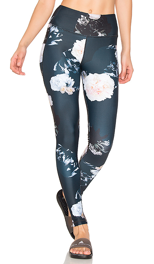 All Fenix Royal Bloom Legging in Navy. - size M (also in L,S,XS)