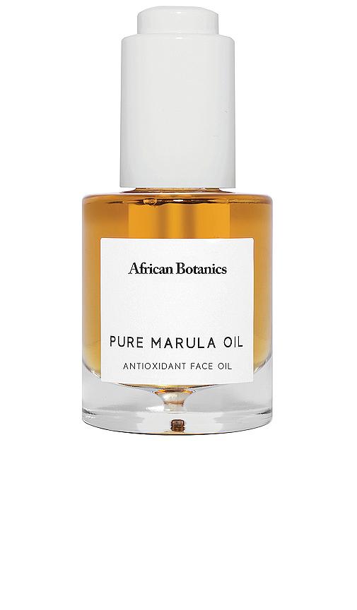 African Botanics Pure Marula Oil.