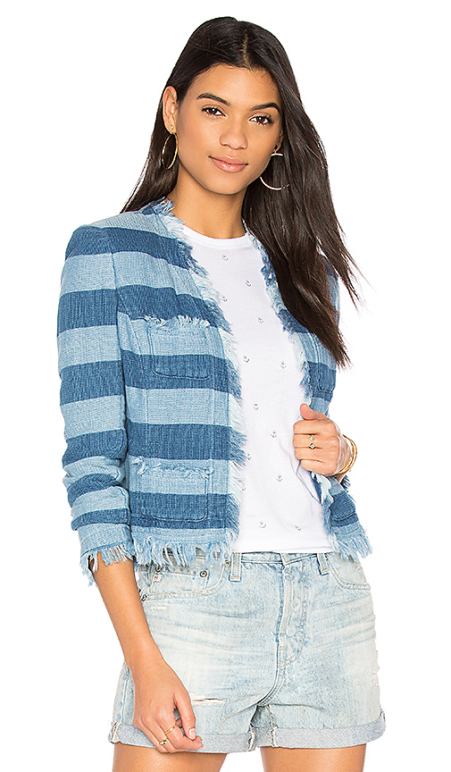AG Adriano Goldschmied Capucine Jacket in Blue. - size M (also in L,S,XS)