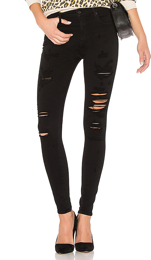 AGOLDE A Gold E Sophie High Rise Skinny. - size 24 (also in 25,26,27,28,29)