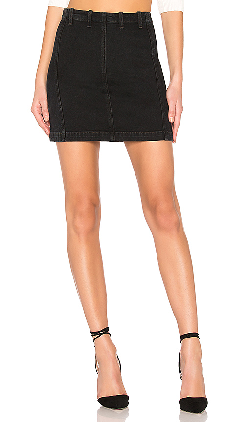AGOLDE | AGOLDE Siouxise Zip Skirt. - Size 29 (Also In 24,25,26,27,28) | Goxip