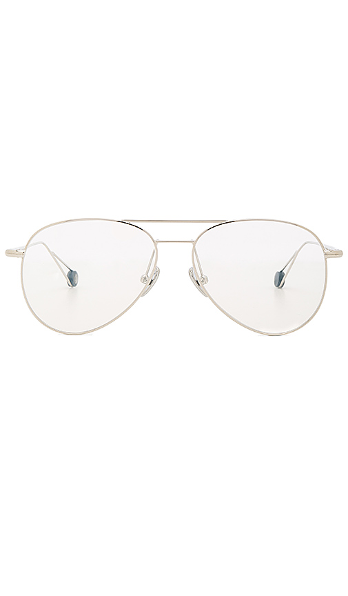 Ahlem Pantheon Opticals in Metallic Silver.