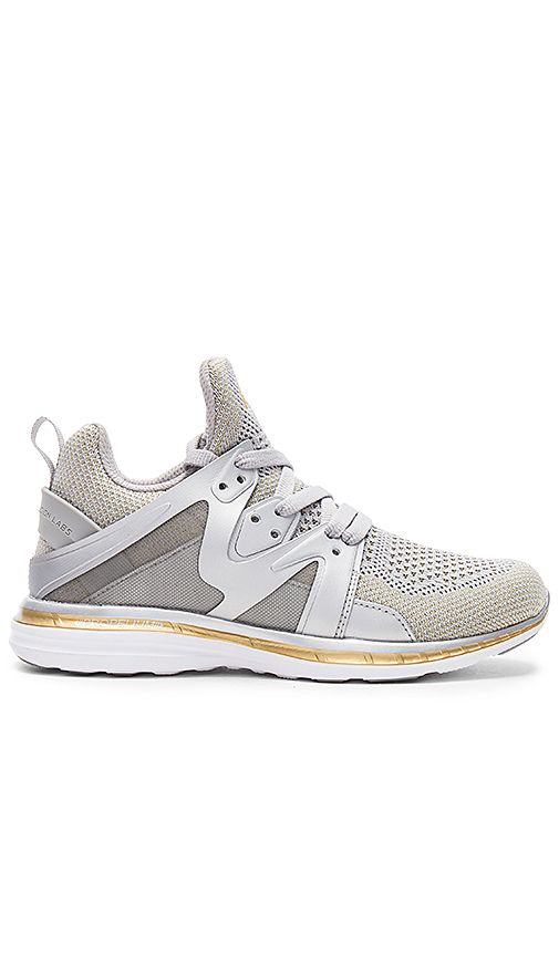Athletic Propulsion Labs: APL Ascend Sneaker in Metallic Silver