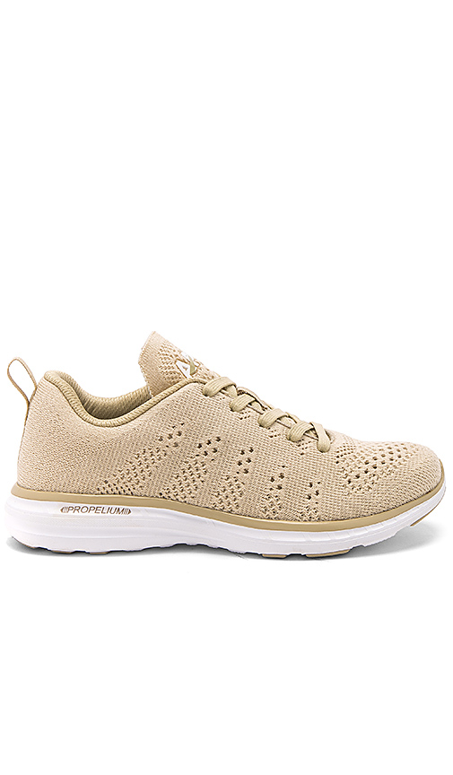 Athletic Propulsion Labs: APL Techloom Pro Sneaker in Beige