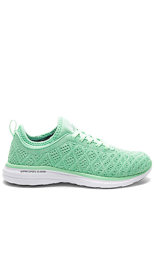 Athletic Propulsion Labs: APL TechLoom Phantom Sneaker in Green