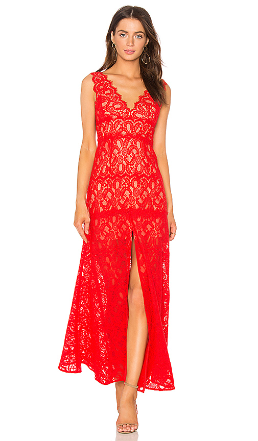 MILLIE LACE GOWN