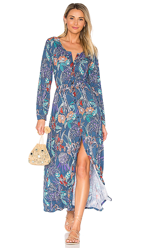 Aila Blue Odyssey Maxi Dress in Blue