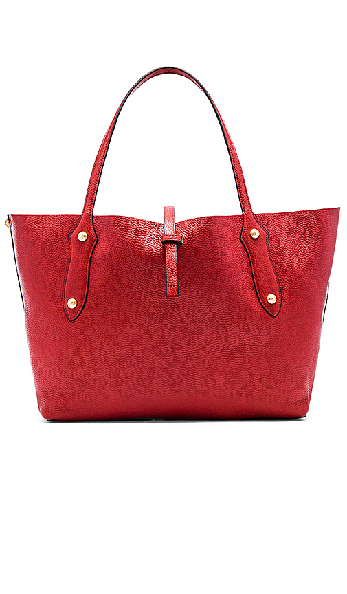 Annabel Ingall Isabella Small Tote in Red.