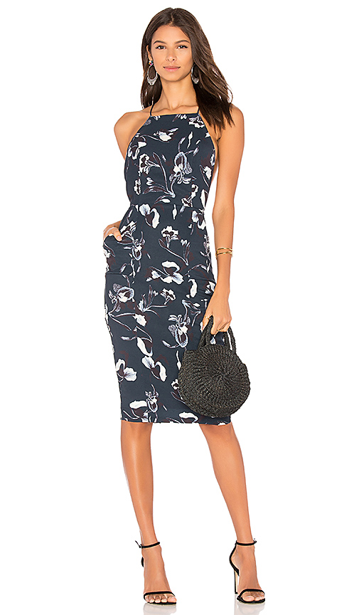 AIRLIE Isolla Dress in Navy