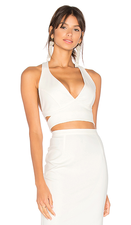 AIRLIE Kamille Crop in White. - size XS (also in L,M,S)