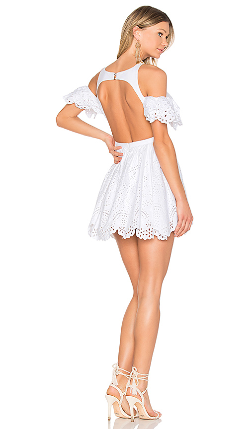Aje Lady Edwina Dress in White. - size Aus 10/US M (also in Aus 12/US L)