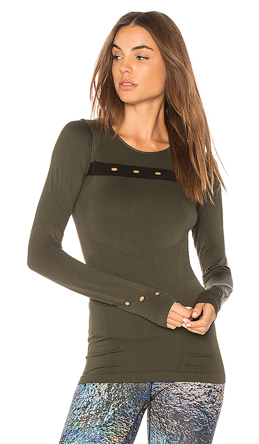 ALALA Niche Tee in Olive. - size S (also in L,M)