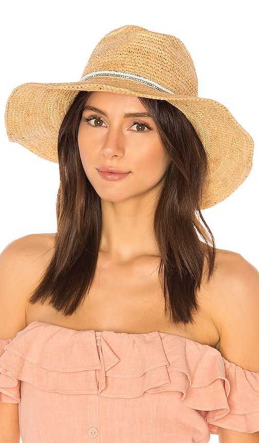 ale by alessandra Cody Hat in Tan