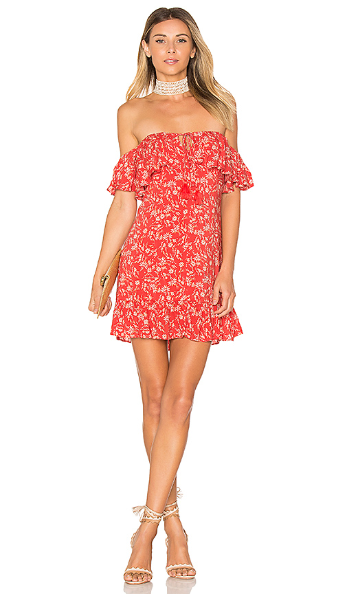 ale by alessandra x REVOLVE Lola Mini Dress in Red. - size XL (also in XS)