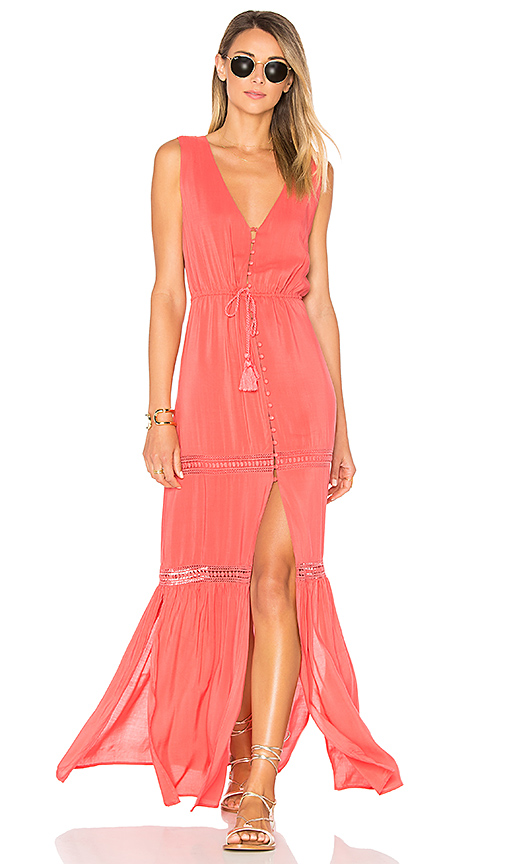 ale by alessandra x REVOLVE Juliana Maxi Dress in Coral. - size S (also in M,XS)