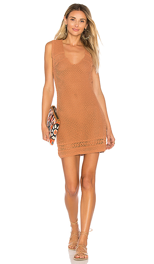 ale by alessandra x REVOLVE Antonia Knit Dress in Tan. - size L (also in M,S,XL, XS)