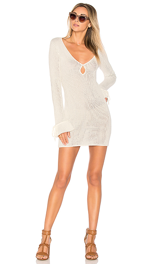 ale by alessandra x REVOLVE Nova Sweater Dress in White