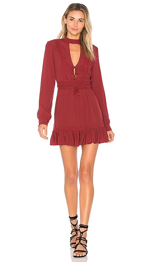 ale by alessandra x REVOLVE Marjorie Dress in Burgundy