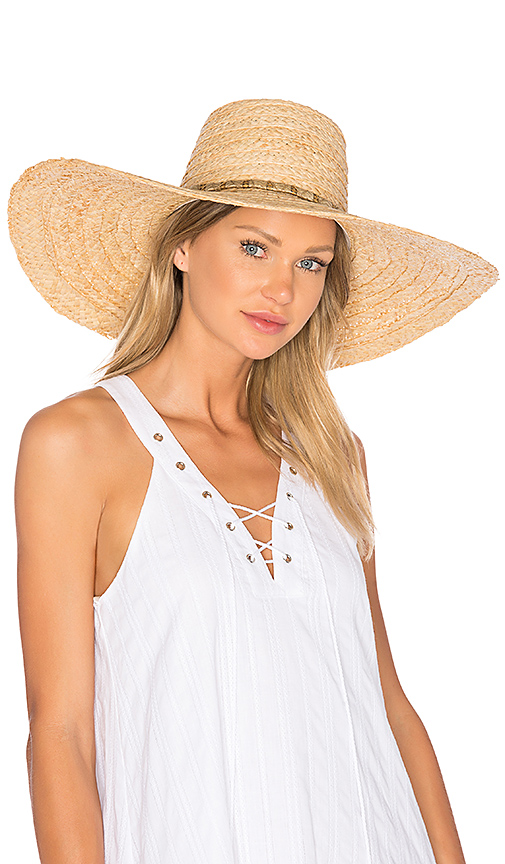 ale by alessandra Palapa Hat in Tan