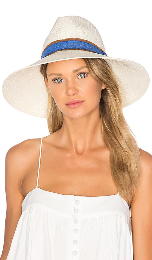 ale by alessandra Grosvenor Hat in Cream