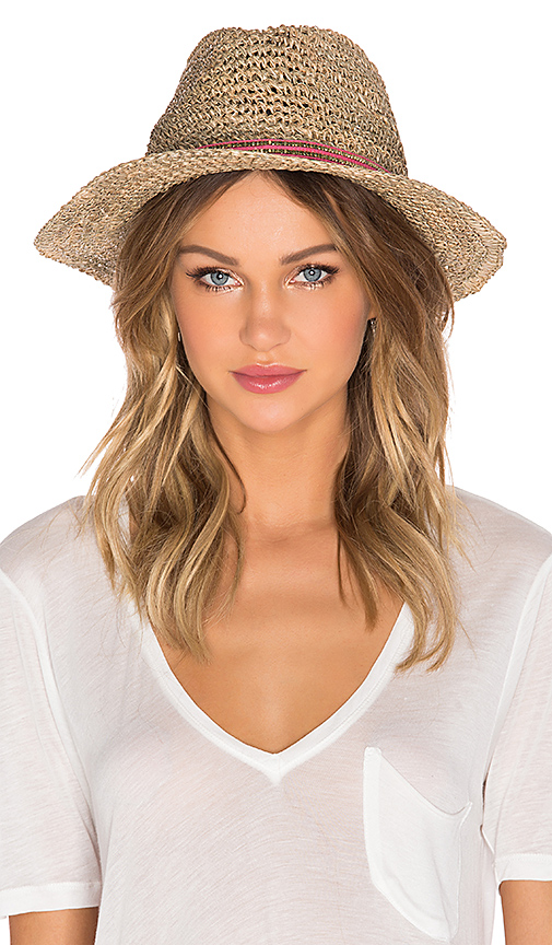 ale by alessandra Trancoso Hat in Brown.