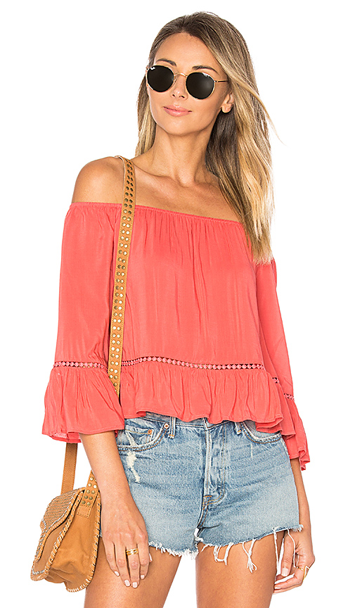 ale by alessandra x REVOLVE Fernanda Top in Coral. - size L (also in M,S,XL, XS)