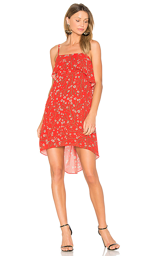 Alice + Olivia Reese Dress in Red. - size S (also in XS)