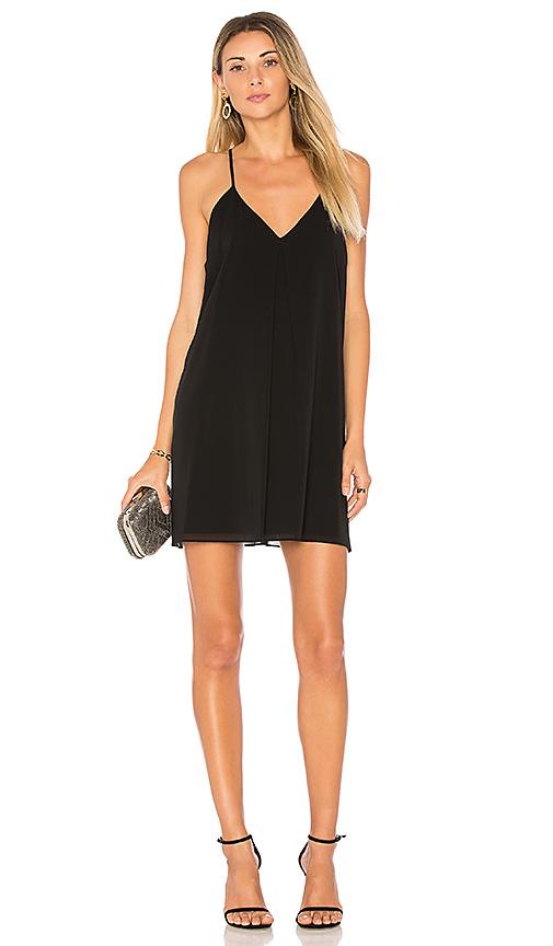 Alice + Olivia Fierra Dress in Black