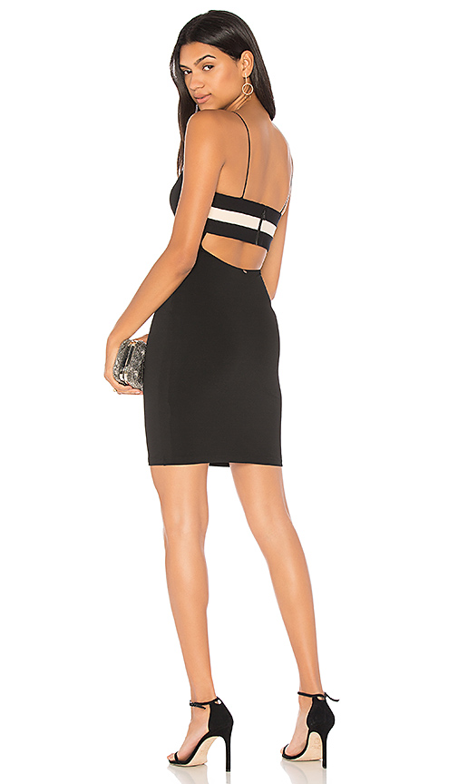 Alice + Olivia Jordy Dress in Black. - size 0 (also in 2,4,6)