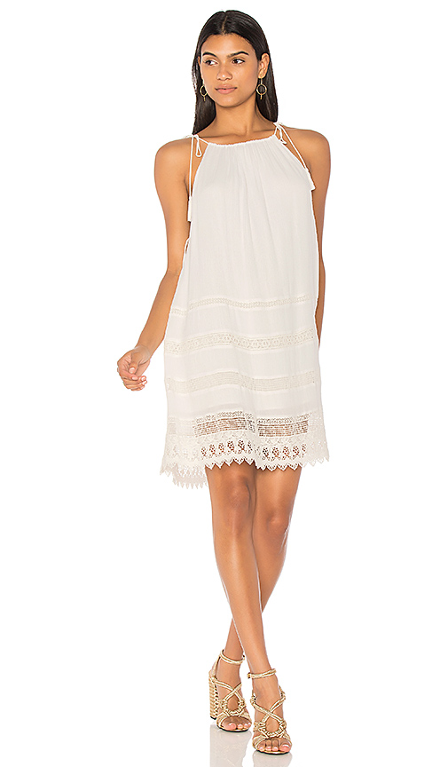 Alice + Olivia Danna Dress in White. - size M (also in S,XS)