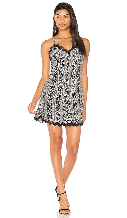 Alice + Olivia Alves Dress in Black & White. - size 0 (also in 2,4,6)