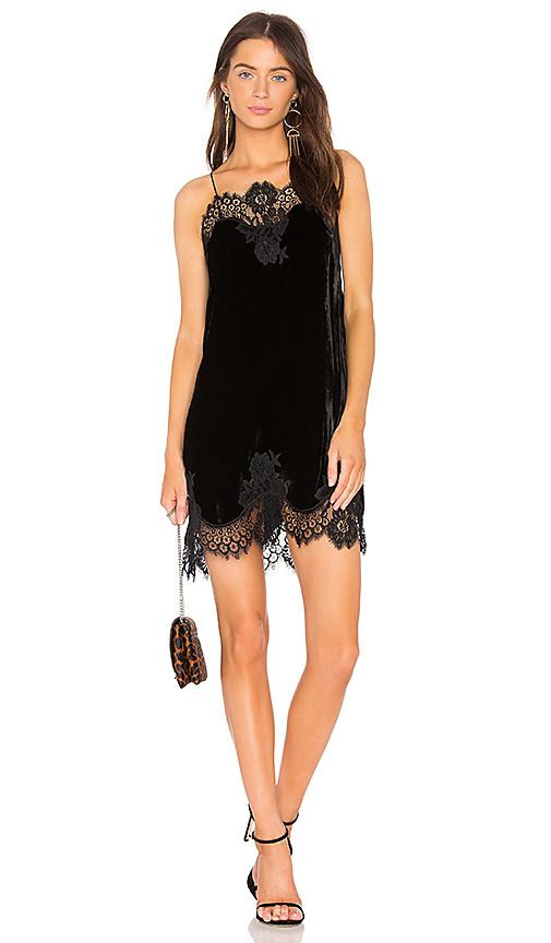 Alice + Olivia Charice Dress in Black