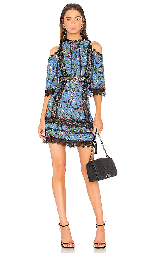 Alice + Olivia Gatz Dress in Blue