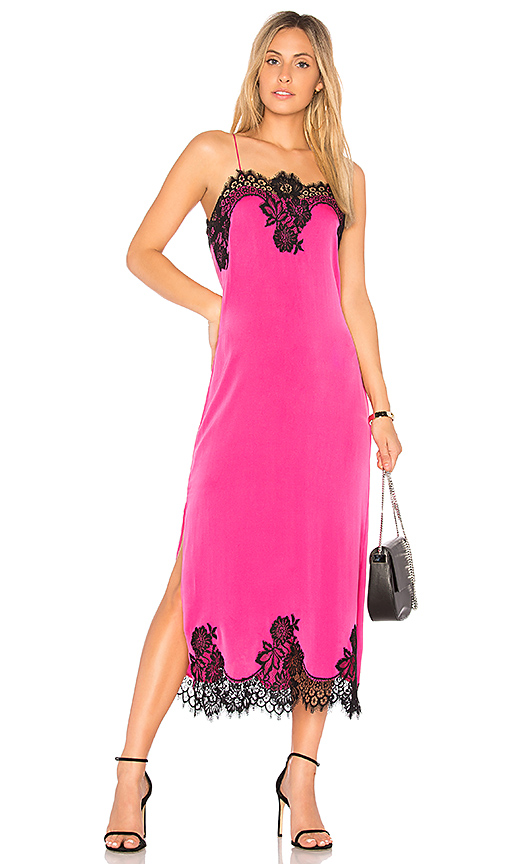 Alice + Olivia Luna Dress in Pink