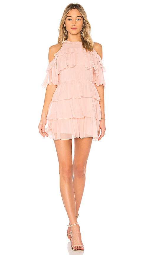 Alice + Olivia Nichola Dress in Blush