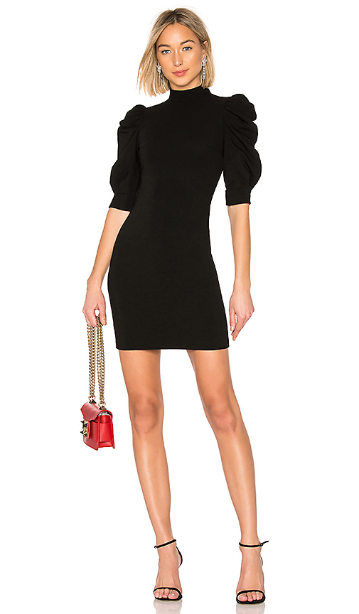 Alice + Olivia Brenna Dress in Black. Size 4,6,8.