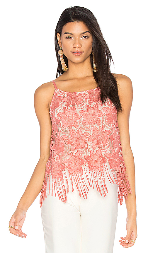 Alice + Olivia Waverly Cami in Pink
