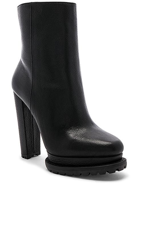 Alice + Olivia Holden Fur Booties in Black