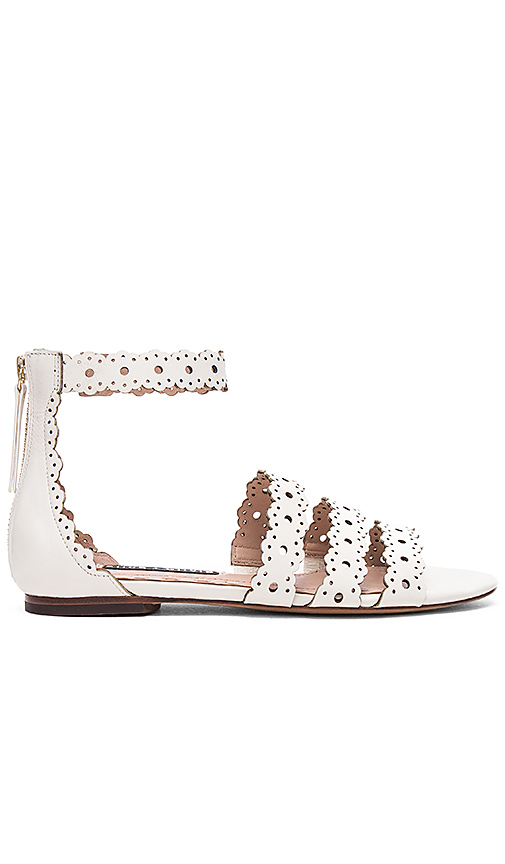 Photo of Alice + Olivia Penny Sandal in Ivory - shop Alice + Olivia shoes sales
