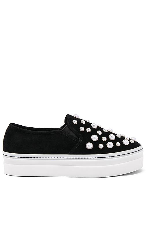 Photo of Alice + Olivia Sasha Pearl Sneaker in Black - shop Alice + Olivia shoes sales