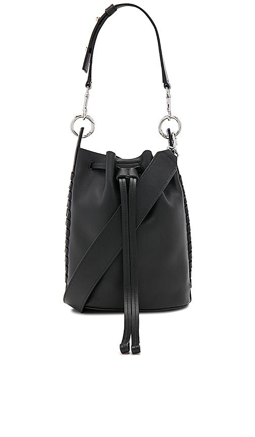 ALLSAINTS Ray Small Bucket Bag in Black