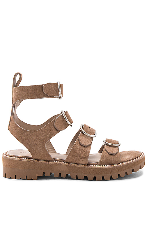 ALLSAINTS Raquel Sandal in Taupe. - size 37 (also in 38,40)