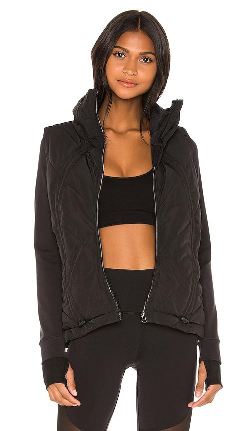 Alo Yoga Alo Cool Breaker Jacket In Black.