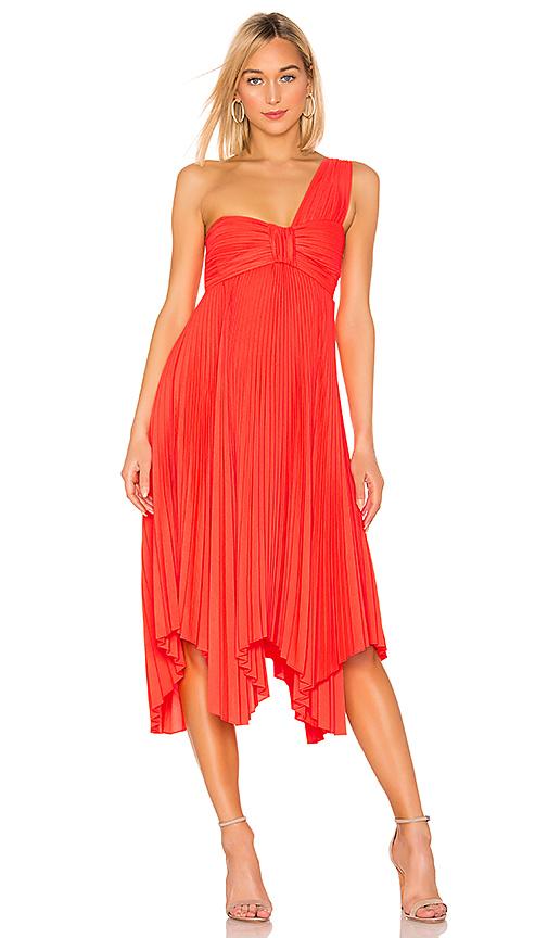 A.l.c Dresses A.L.C. MARBURY DRESS IN NEON ORANGE