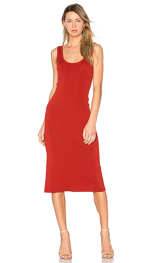 A.L.C. Kaius Dress in Red. - size L (also in M,S)