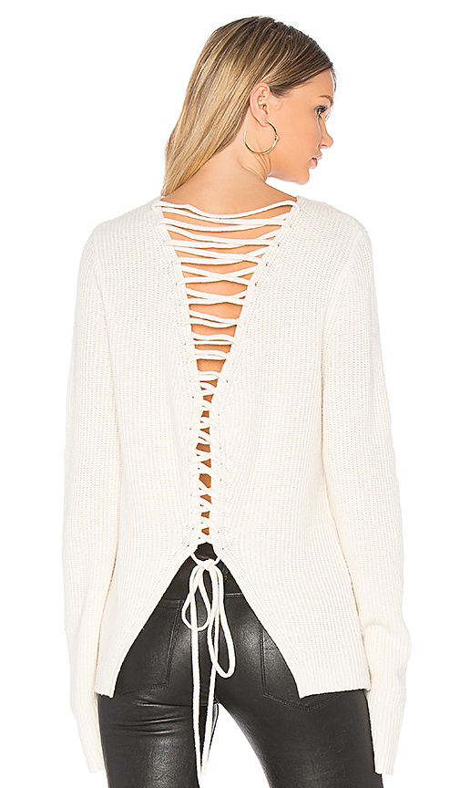 A.L.C. Markell Sweater in White. - size XS (also in L,M,S)