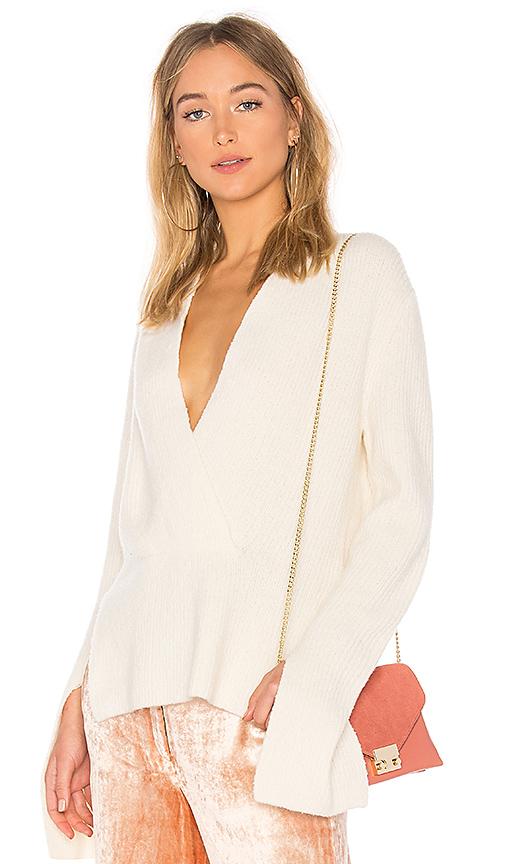 A.L.C. Arlin Sweater in White. - size S (also in L,M,XS)