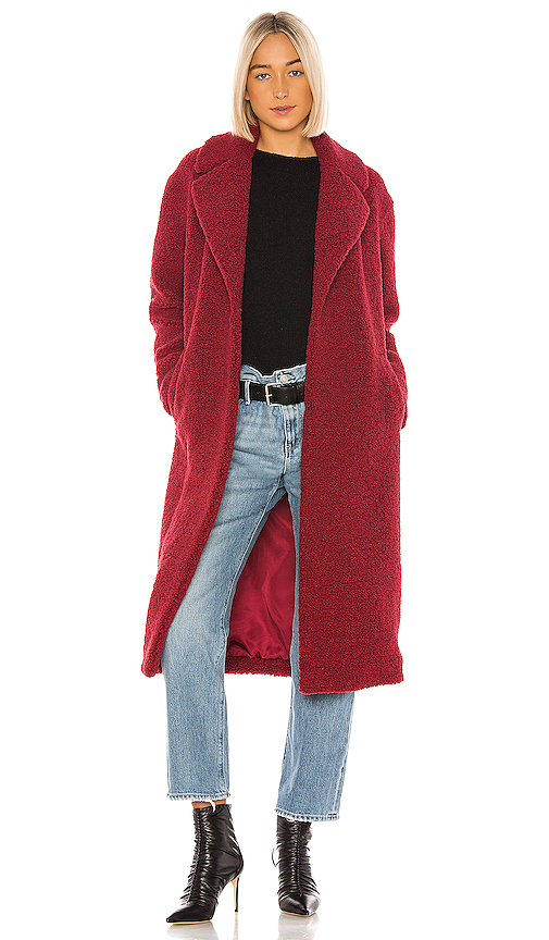 A.l.c Coats A.L.C. CARON COAT IN RED.
