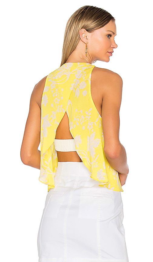 A.L.C. Jasper Top in Yellow